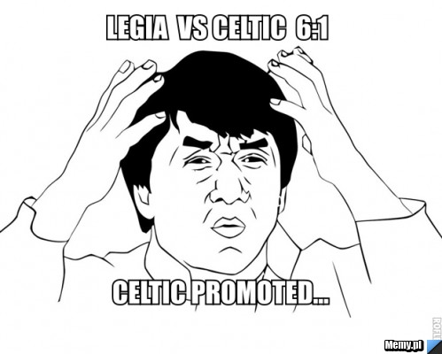 Legia vs Celtic #FuckUEFA