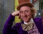 Willy Wonka, to miły facet, który potrafi zagiąć swoim komentarzem niejedną osobę w sposób uszczypliwy. Udaje aprobatę i uznanie, a przez to jego dowcip bardziej wyśmiewa cechy niektórych z nas.