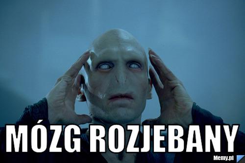 mózg rozjebany - Memy.pl