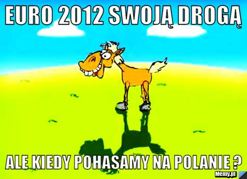 Euro 2012 swoją drogą ale kiedy pohasamy na polanie ?