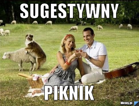 sugestywny piknik