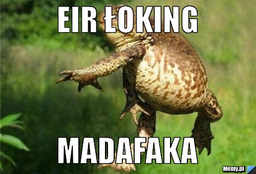 EIR ŁOKING MADAFAKA