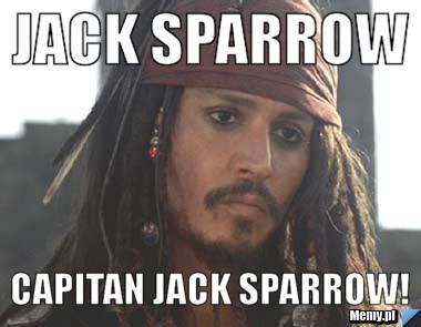 Jack Sparrow Capitan Jack Sparrow!