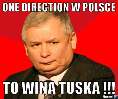 One Direction w polsce  To wina Tuska !!!
