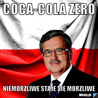Coca-Cola zero niemorzliwe staje się morzliwe