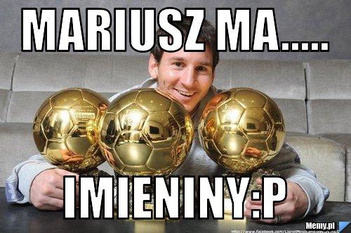 Mariusz Ma Imieninyp Memypl