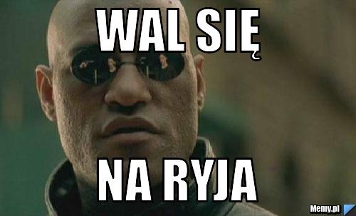 <b>WAL</b> SIĘ <b>NA</b> RYJA